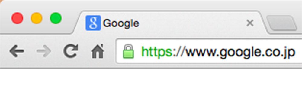 google検索はhttps