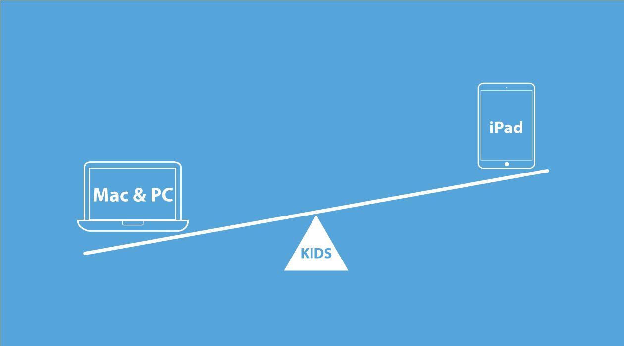 子供にはパソコンをすすめる理由イメージ