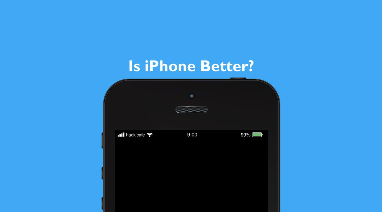 iPhoneをすすめる理由のイメージ